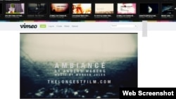 vimeo.com сайтының сайтынан скриншот. (Көрнекі сурет)