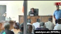 Судебное заседание по делу «Сасна црер» (архив)
