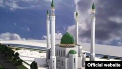 Проект так и не построенной соборной мечети в Екатеринбурге.