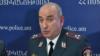 Начальник штаба полиции, полковник Армен Гукасян во время пресс-конференции, Ереван, 30 января 2019 г.