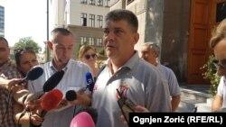 Predsednik Šrajkačkog odbora FCS Zoran Marković bez detalja o prvom danu pregovora