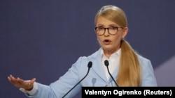 Украинский политик Юлия Тимошенко, лидер оппозиционной партии «Батькивщина».