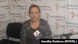 Вынужденная переселенка Мафкура Алиева. Баку, 28 января 2013