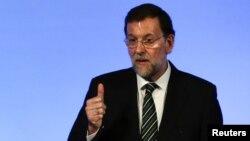 Премьер-министр Испании, лидер Народной партии Мариано Рахой