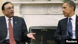 Асиф Али Зардари и Барак Обама