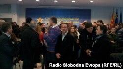 Konferencija Zorana Zaeva u Skoplju