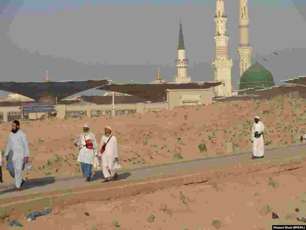 Al-Baqi cemetery in Medina City