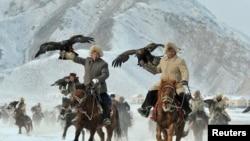 Кытайдагы кыргыз мүнүшкөрлөрү