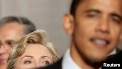 Barak Obama i Hilari Klinton, ilustrativna fotografija
