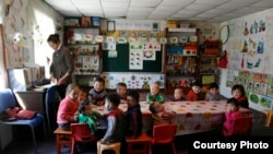 В детском саду «Балбобек» в Монголии. Фото с сайта Steppenomads.org.