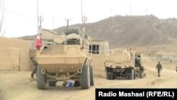 Афганские силовики, март 2017 года