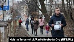 Акція «100 кроків до неба» у Львові