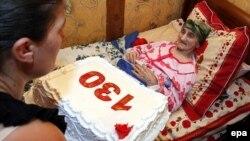 Antisa Khvichava në 130-vjetorin e lindjes.