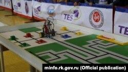 Крымский региональный этап Всероссийской олимпиады роботов