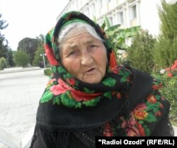Ёдгорби Ятимова, жительница города Куляб