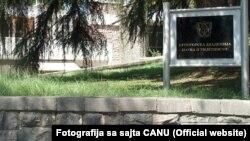 Zgrada Crnogorske akademije nauka i umjetnosti