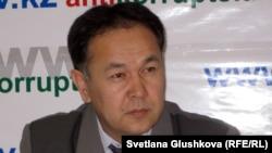 Жезқазған қаласы ішкі істер басқармасының бұрынғы бастығы Жомарт Әбішев. Астана, 14 қараша 2012 жыл.