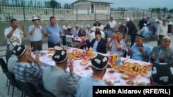 Ифтар в селе Максат. 12 июня 2018 года.