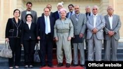 رئيس إقليم كردستان العراق يتوسط قياديين معارضين من كرد سوريا