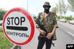 Donetskdə Rusiyameylli yaraqlı - 15 may 2014