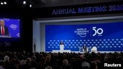 Выступление президента США Дональда Трампа на Всемирном экономическом форуме, 21 января 2020 года