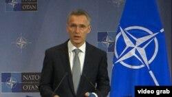 Генеральный секретарь НАТО Йенс Столтенберг. Брюссель, 2 декабря 2015 года.