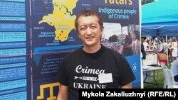 Президент Канадской ассоциации крымских татар Рустем Ирсай