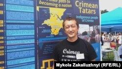 Президент Канадської асоціації кримських татар Рустем Ірсай