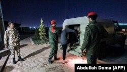 Бойцы армии Хафтара в Бенгази