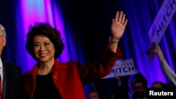 SUA - Secretarul american al Transporturilor, Elaine Chao