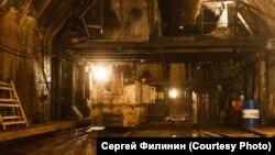 Выход к стволу №2. Красноярский метрополитен.