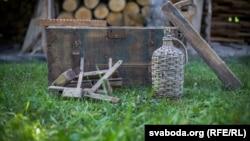 Стары куфар, які захаваўся з«польскіх часоў»