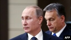 Putin and Orban in February