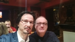 Lucian Ștefănescu în dilaog cu Cristi Danileț