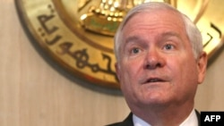 U.S. Defense Secretary Robert Gates (file photo)