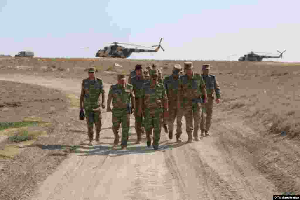 Azerbaijan -- Air Defence Forces held training, 14Aug2014