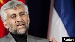 سعید جلیلی، سرپرست هیئت مذاکرهکننده هستهای ایران در ژنو، ۷ دسامبر ۲۰۱۰