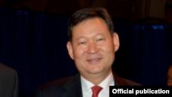 Кайрат Умаров в бытность послом Казахстана в США.
