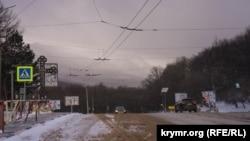 Ангарский перевал в Крыму, архивное фото