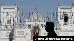 Një nga kishat ku janë kryer sulmet në Shri Lankë.