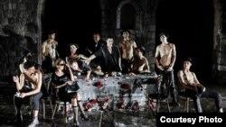 Театарската претстава Медеја на Хрватското народно казалиште.