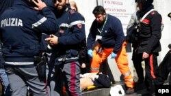 Pamje nga sulmi i sotëm në Milano