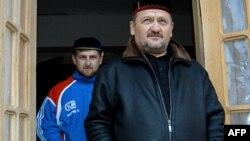 Рамзан и Ахмат Кадыровы, архивное фото