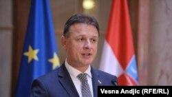 Архивска фотографија- Претседателот на хрватското собрание Гордан Јандроковиќ