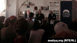 Михаил Ходорковскиймен кездесу. Прага, 13 қазан 2014 жыл.
