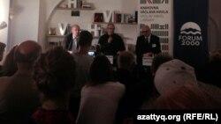 Встреча с Михаилом Ходорковским в библиотеке имени Вацлава Гавела. Прага, 13 октября 2014 года.