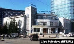 Клуб Октябрьской революции. Один из 94 памятников конструктивизма Новосибирска