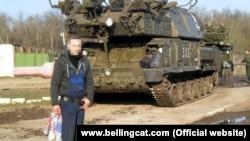 Установка комплексу «Бук-М1» з бортовим номером «332» російської 53-ї зенітно-ракетної бригади, фото з онлайн-альбому російського механіка