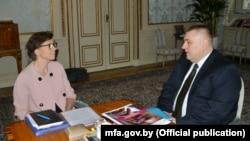 Аніка Сёдэр і Алег Краўчанка