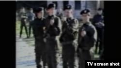 Pripadnici 10.diverzantskog odreda, snimak prikazan u sudnici